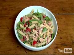 Still Photo for Diabetes: Salmon Pasta Salad